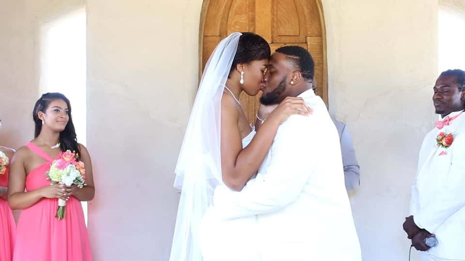 Imani McGee-Stafford and Paul Boyette Jr. - Wedding Photo
